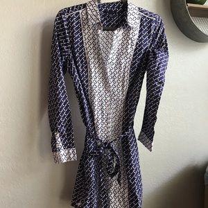 Tommy Hilfiger long sleeve button up dress